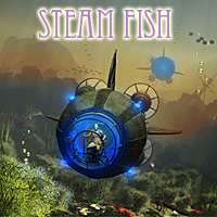 Steam Fish 3D Models 1971s