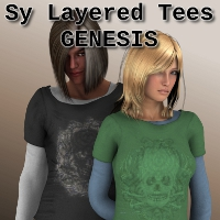 SY Layered Tees Genesis Clothing SickleYield