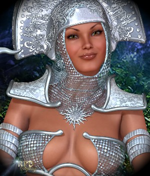Priestess of the Sun -  MAYAN ORACLE 3D Models 3D Figure Assets -renapd-
