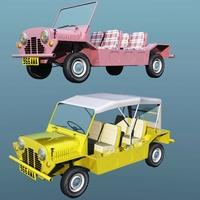 MINI MOKE 1968 ( for Vue ) Software 3D Models Nationale7