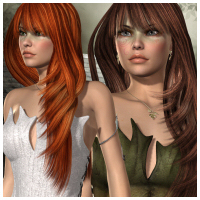 Lewanna Hair by -Wolfie-