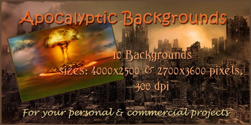 Apocalyptic Backgrounds