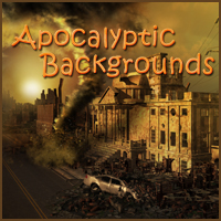 Apocalyptic Backgrounds 3D Models 2D -Melkor-