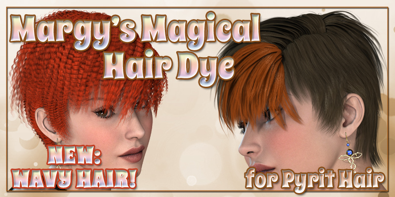 Margy's Magical Hair Dye for Pyrit Hair