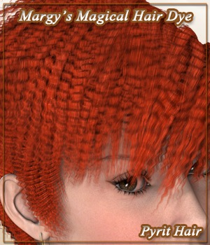Margy's Magical Hair Dye for Pyrit Hair 3D Figure Assets MargyThunderstorm