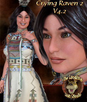 TLLS Crying Raven 2 for V4.2 3D Figure Essentials Talwicca