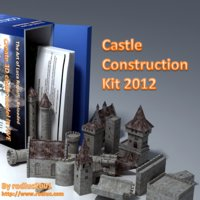 Castle construction kit 2012 3D Models rodluc2001