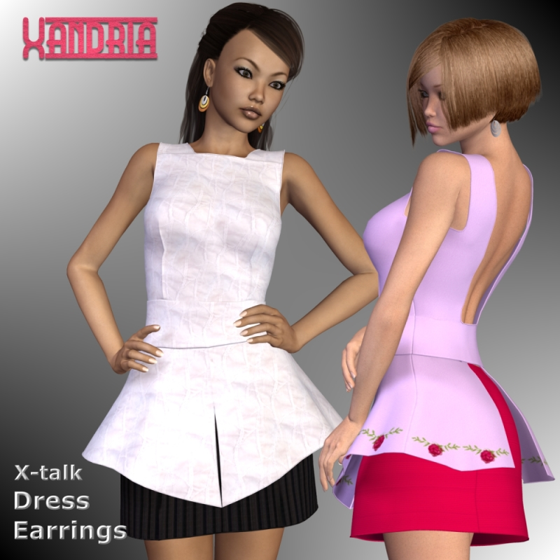 Xandria Dress for V4-S4-Elite-A4-Alice