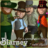 Blarney Hein 3D Figure Essentials JudibugDesigns