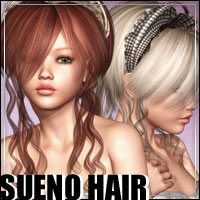 Sueno Hair 3D Figure Essentials outoftouch