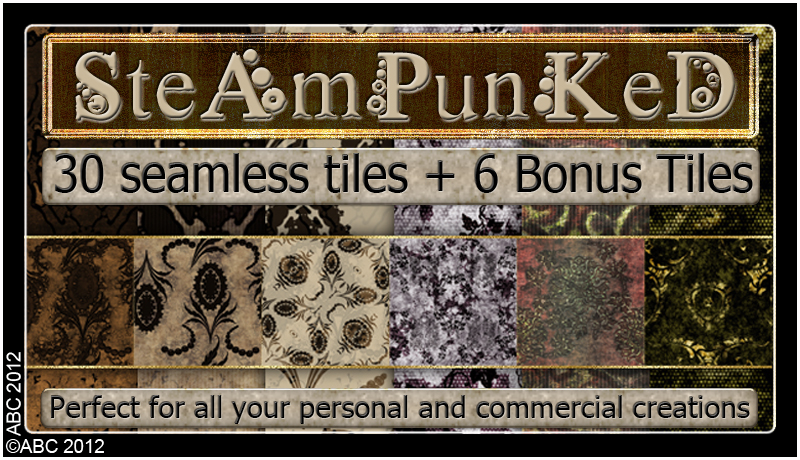 ABC Steampunked
