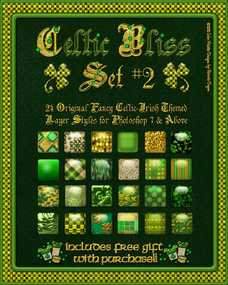 Celtic Bliss: Set #2 Styles w/Free Gift