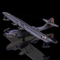 Consolidated PBY 5 Catalina (for Poser) Themed Transportation Digimation_ModelBank