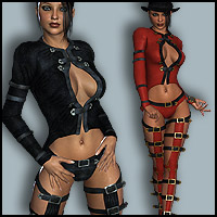 Coquine Clothing & Boots V4, A4 & G4 Software Clothing Footwear Themed RPublishing