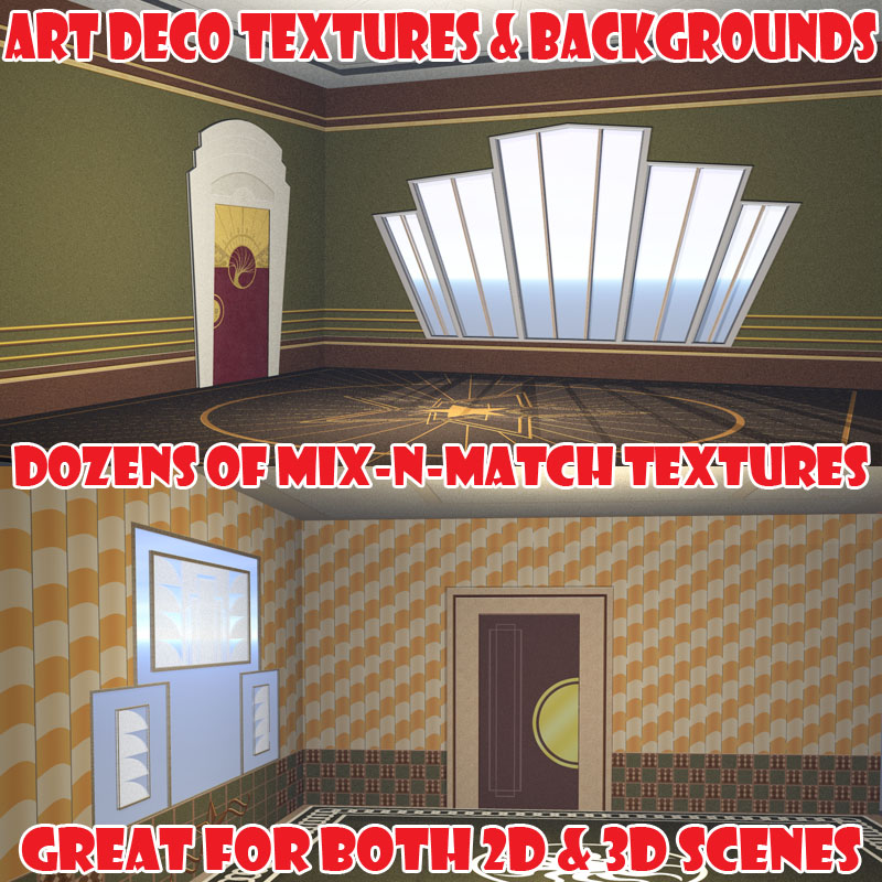 Art Deco Textures & Backgrounds