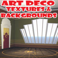 Art Deco Textures & Backgrounds 2D sjph-art