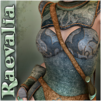 Raevalia 3D Figure Essentials Silver