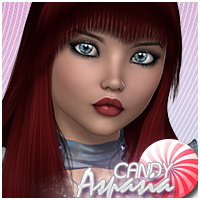 Candy Aspasia Themed Hair Sveva