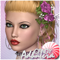 Candy Adhafera Hair Sveva