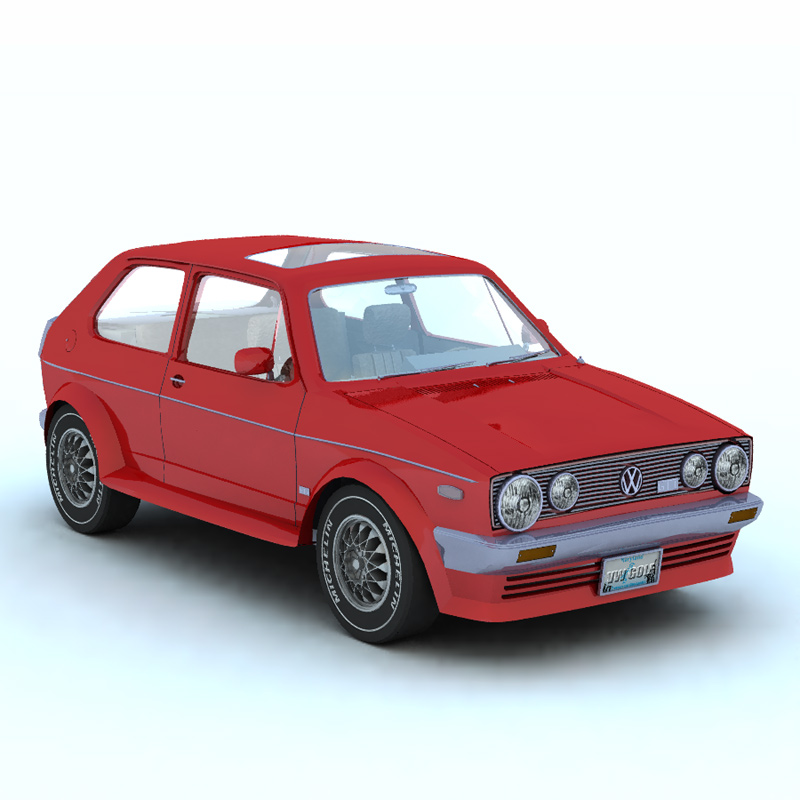 Volkswagen Golf I GTI (for Vue)