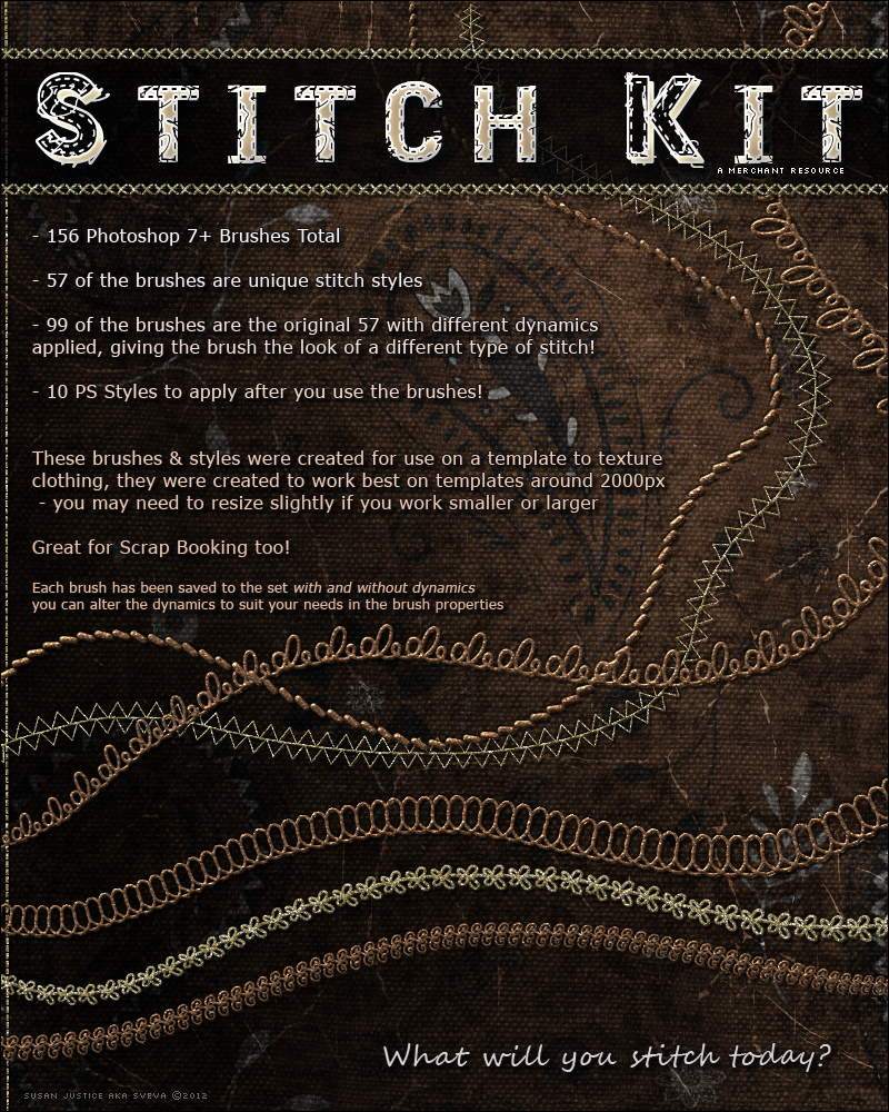 Merchant Resource: Stitch Kit