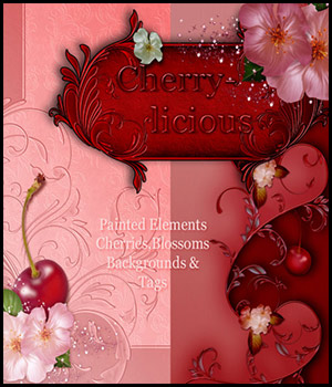 Cherry-Licious 2D Graphics antje