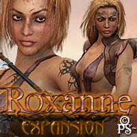 PS-Roxanne Expansion for V4 3D Figure Assets pixeluna