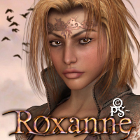 PS-Roxanne for V4 3D Figure Essentials pixeluna