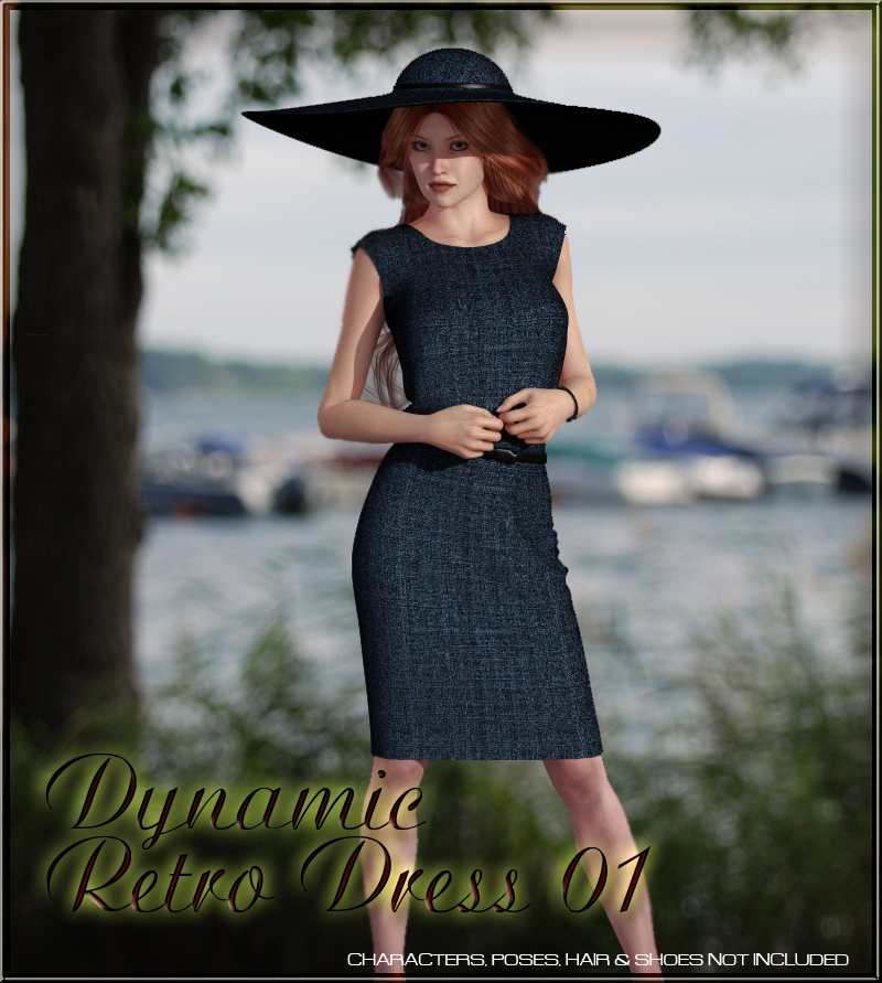 Dynamic Retro Dress 01 for V4 and GNDA