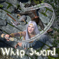 Whip Sword 3D Models BionicRooster
