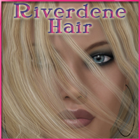 Riverdene Hair V4-A4-G4 3D Figure Essentials nikisatez