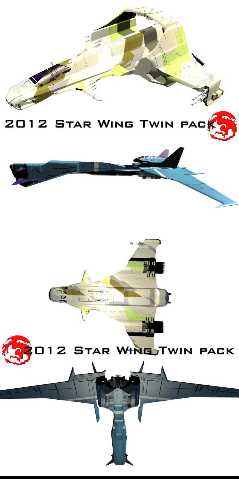 2012 Star Wing Twin Pack