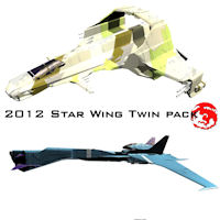 2012 Star Wing Twin Pack 3D Models rj001