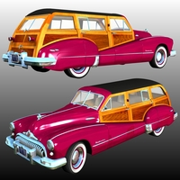 BUICK Roadmaster Estate Wagon ( for Poser ) Transportation Nationale7