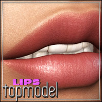Topmodel Lips 3D Models 3D Figure Essentials outoftouch