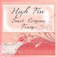 Hi-5 Sweet Romance Frames 2D And/Or Merchant Resources Themed antje