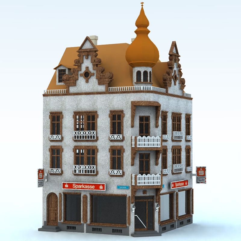 Townhouse 1 (for Vue)