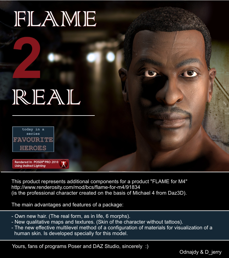 FLAME 2 Real for M4