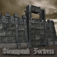 Steampunk Fortress Themed coflek-gnorg