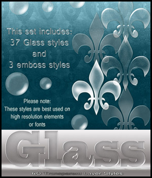 Glass Styles 2D Graphics antje