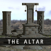 The Altar 3D Models RetroDevil