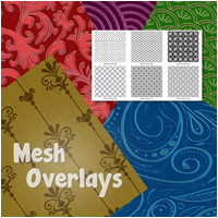 Mesh Overlays 2D And/Or Merchant Resources Atenais