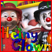 HeinyClown Stand Alone Figures Characters Themed Clothing JudibugDesigns