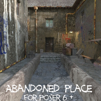 AJ  Abandoned Place Props/Scenes/Architecture Themed -AppleJack-
