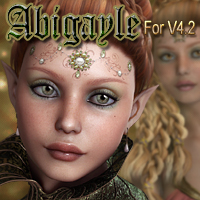 MDD Abigayle for V4.2 Characters Themed Maddelirium