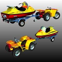JETSKI_BUNDLE ( for POSER ) 3D Models Nationale7