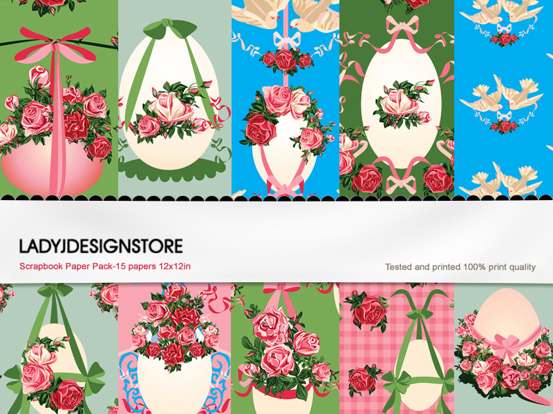 Easter Romantic - Seamless Paper Pack