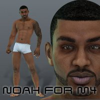 Noah for M4 3D Figure Assets bergieD