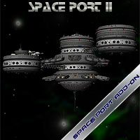 Space Port 2 Themed Props/Scenes/Architecture Simon-3D