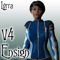 V4 Ensign Suit 3D Figure Essentials 3D Models Lyrra